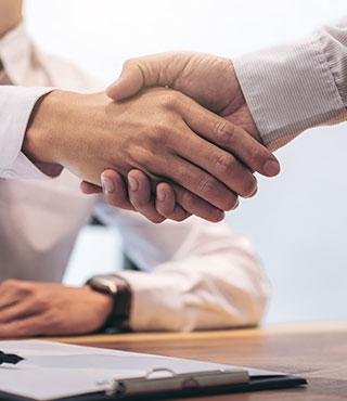 uber uns handshake
