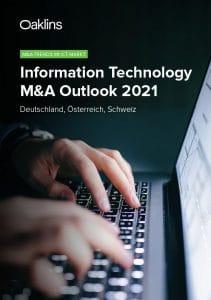 Oaklins ICT Outlook 2021 Titelseite